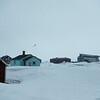 Ny-Ålesund in Kongsjorden, Spitzbergen, Svalbard