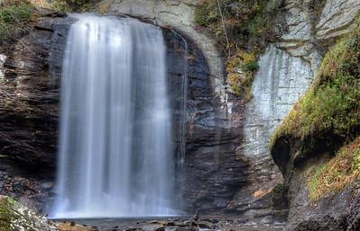 Looking Glass Falls near Brevard