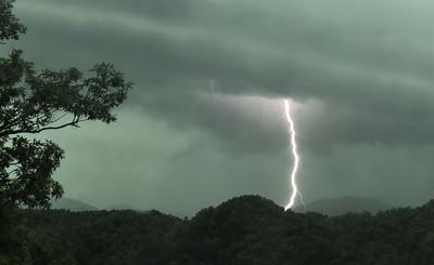 Smoky Mountain Spring storm