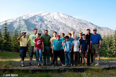 T470 Mt St Helens Climb 2011