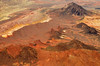 Mountain ridges near Las Vegas Nevada