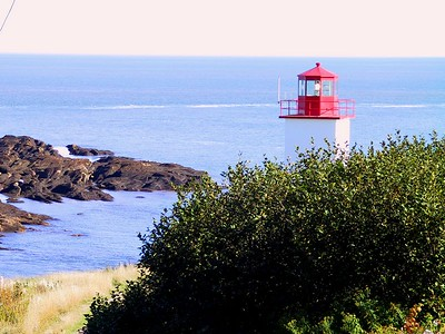 WEST QUACO LIGHTHOUSE VIEW