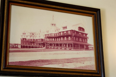 THE ALGONQUIN FIVE STAR HOTEL & RESTAURANT IN SAINT ANDREWS BY THE SEA - EARLY 1900