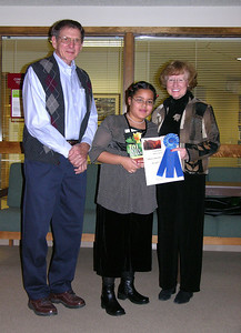 Yzabel Tio, Gerri Varner and Marian Jackson People's Choice Award