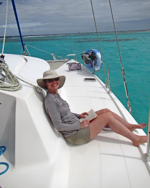 2017_ Jennette on the Imagination_ Tobago Cays_ Grenadines_IMG_1680