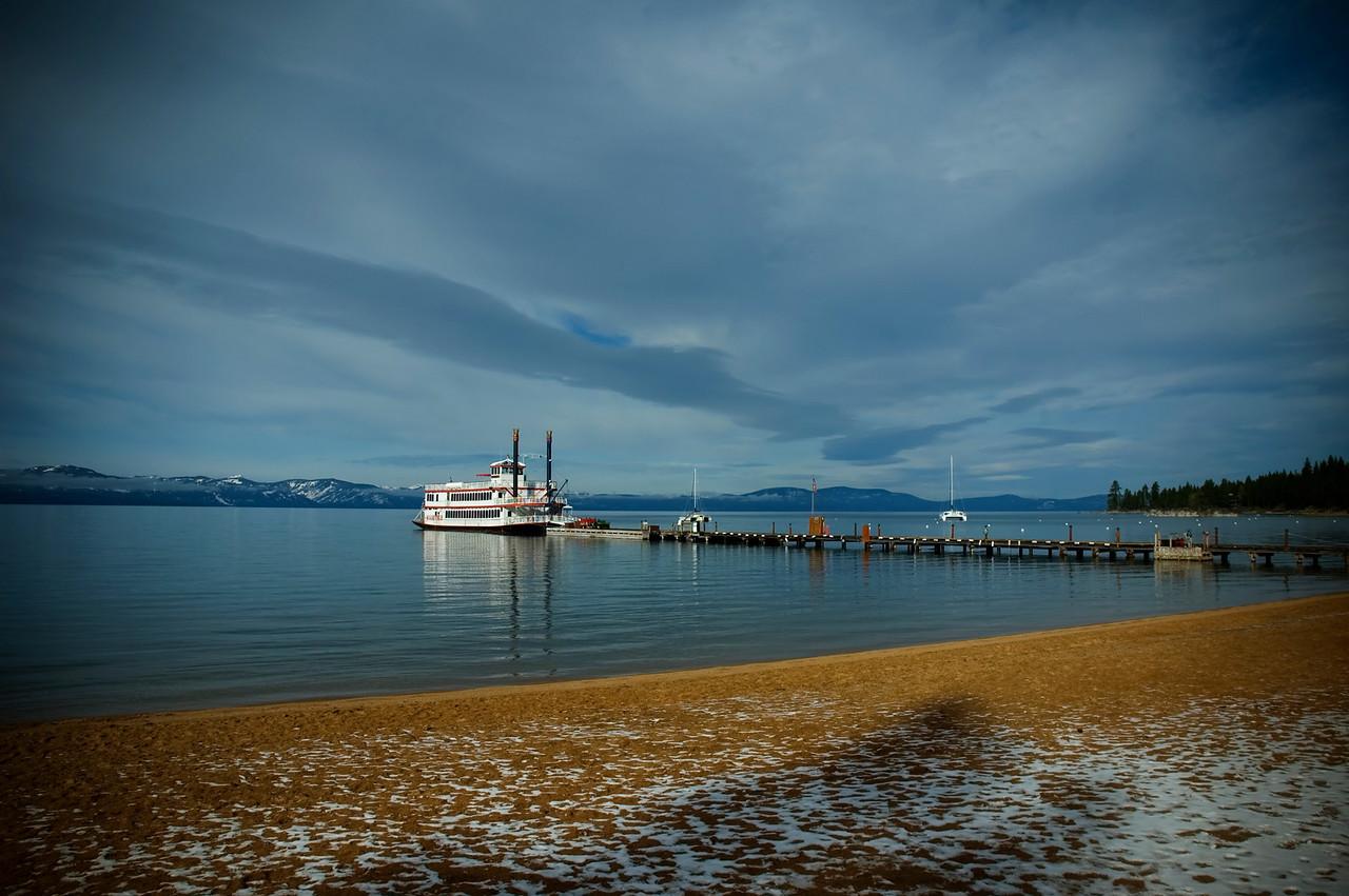 Riverboat on Lake Tahoe