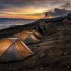 Sunset at Karanga Camp
