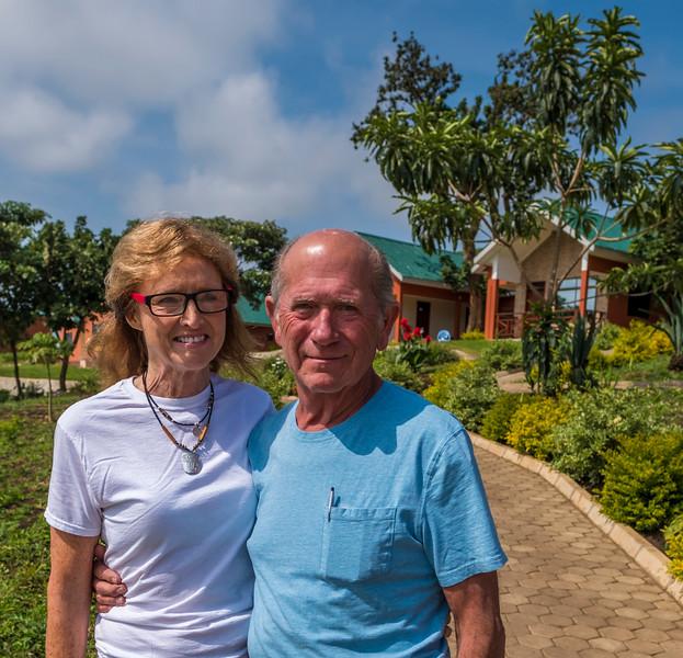 Dorris and Michael Fortson- founders of Neema Village [neemavillage.org]