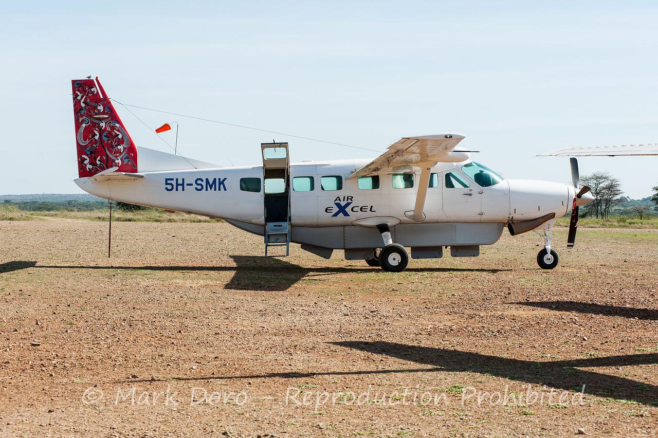 Seronera airstrip, Serengeti, Tanzania