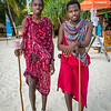 Beach security- Maasai Warriors