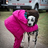 Dotty, a fire and rescue mascot, is feeling the love.