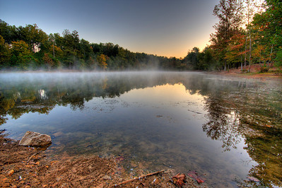 Bowie Nature Park, Lake Van HDR