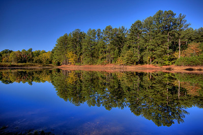 Bowie Nature Park, Lake Anne HDR