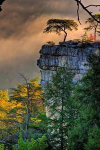 Cane Creek Bluff at Fall Creek Falls HDR
