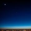 28. mars 2012: Månen, Venus, Jupiter og Holmenkollbakken