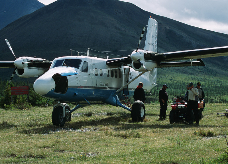 Twin Otter - Firth River Yukon Territory