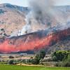 Overview of Blackrock Fire