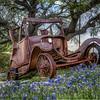 Old car in Llano, TX.