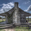 Cabin at Independence, TX. Part of the historical site.