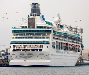 Royal Caribbean Vision of the Seas ... a modest 78 Gross Tons