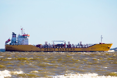 One of the ubiquitous Stolt Tankers -- the Quetzal.