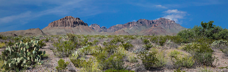 Nugent and Pummel Mountain Panorama from Dugout Wells area