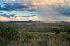 Rain shower, view from Skyline Drive, Davis Mountains State Park