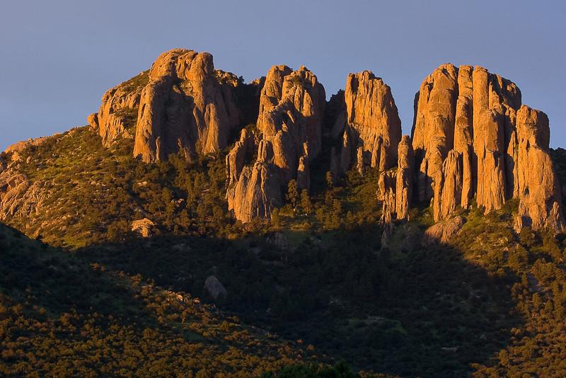 Sunrise, Sawtooth Mountain