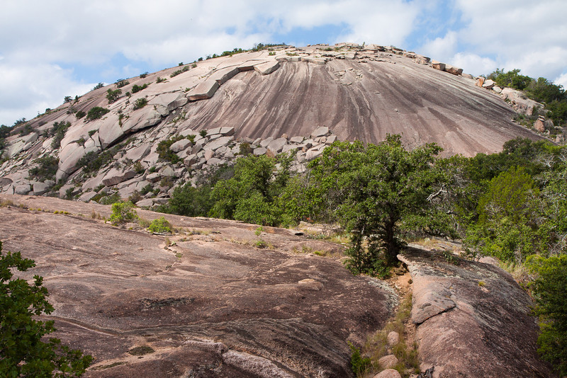 North Side of Enchanted Rock