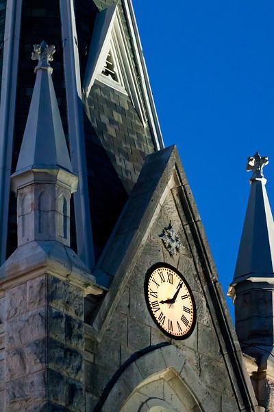 St. Mary's Catholic Church in Fredericksburg, Texas.