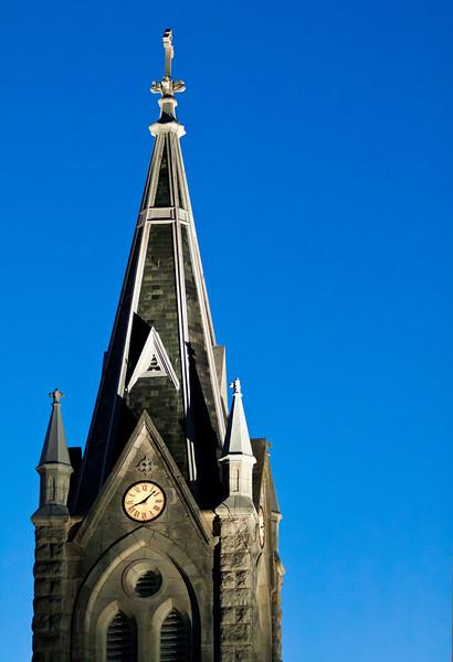 The new St. Mary's Catholic Church.