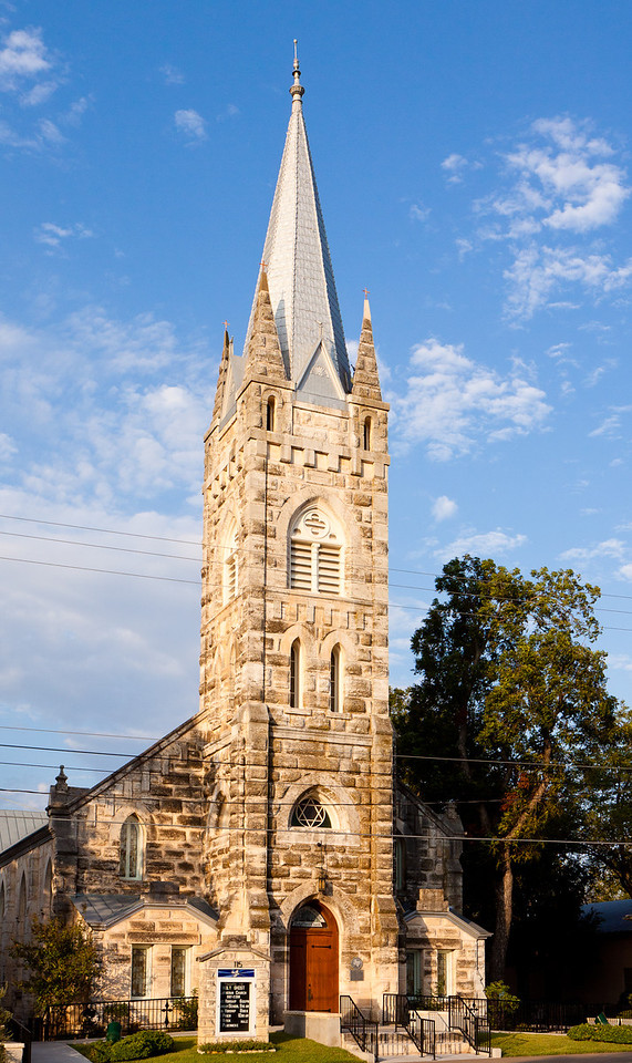 The Holy Ghost Lutheran Church built in 1893.