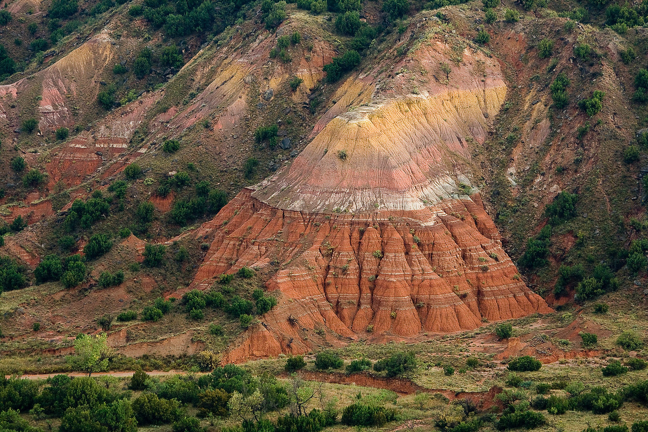 Spanish Skirts, Palo Duro Canyon