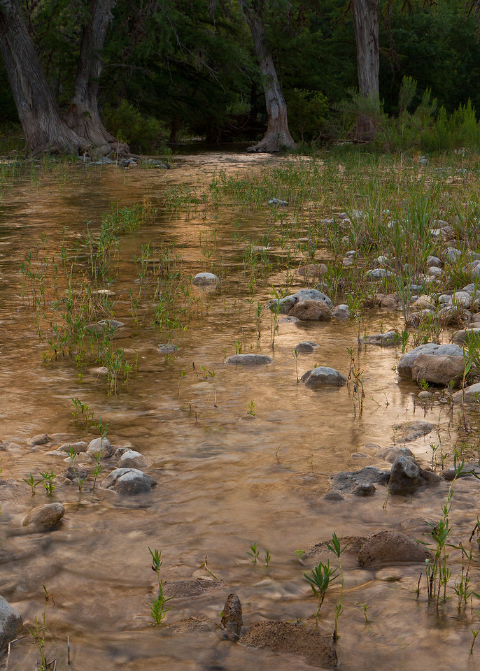 The depth of the Frio ranged from a few inches to 8 feet deep swimming holes.