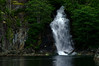 A warm waterfall in Teakerne Arm. It comes out of a lake that is warm enough to swim in.