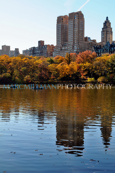 Nice day for a row (Central Park- Sun 11/13/10)