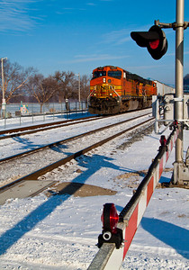 trains make good subjects for a photographer