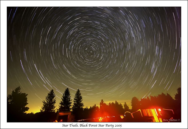 Star Trails BFSP 2005