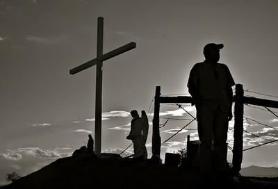 Roadside Shrine in Chimayo, NM