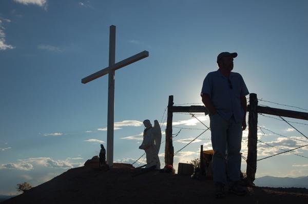 New Mexico roadside shrine