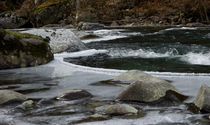 Frozen East Fork