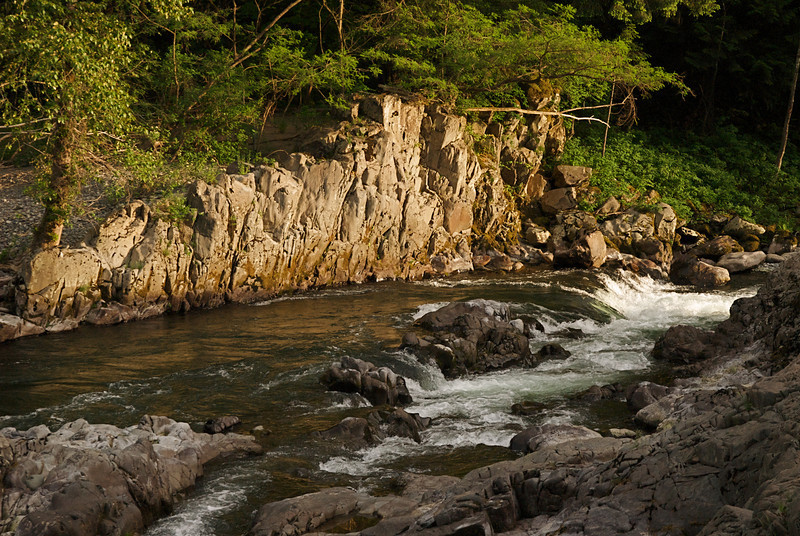 Just below Lucia Falls