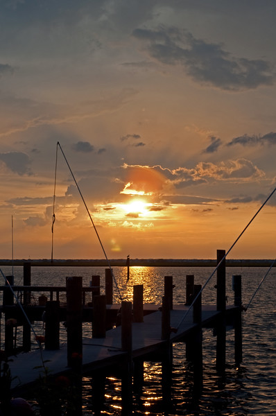 Sunset on Barnegat Bay from Ship Bottom, NJ