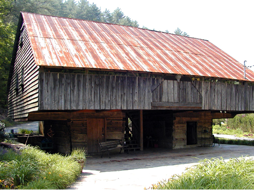 The Lily Barn was built in the 1800's and remains on its original site.<br /> They sell field lilies, water lilies, Tennessee native plants and wildflowers.<br /> Townsend, TN