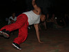 breakdancer at Maze Garden