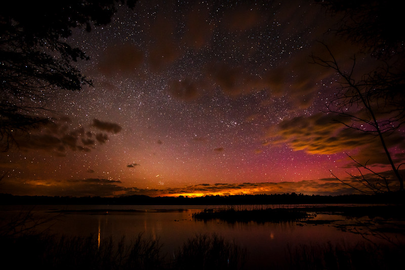 Northern Lights on Grassy Lake