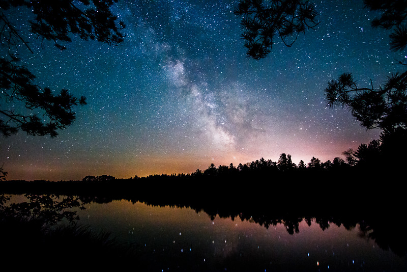 Mann Lake Milky Way Reflections