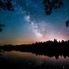 Mann Lake Milky Way Reflections