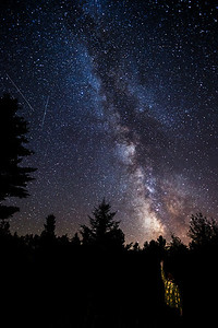 Milky Way From Our Meadow