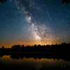 Shooting Stars and the Milky Way  2